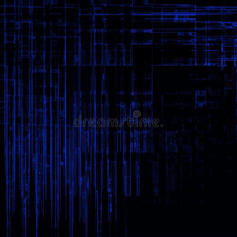 wysoka tła matrix rezerwatu. ilustracji