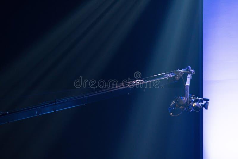 Wysoka wideo DSLR produkcji kamery socjalny sie? zdjęcie stock