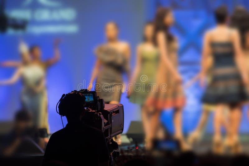 Wysoka wideo DSLR produkcji kamery socjalny sie? obraz royalty free