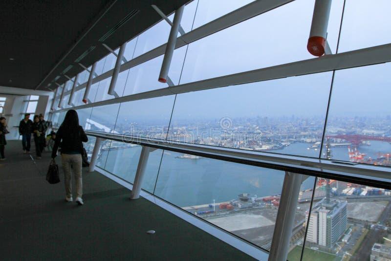 wysoki budynek WTC przy Osaka obraz royalty free
