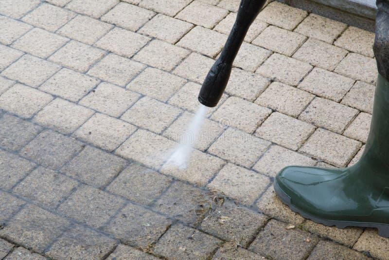 Wysoki Ciśnieniowy Cleaning - 16 zdjęcia royalty free