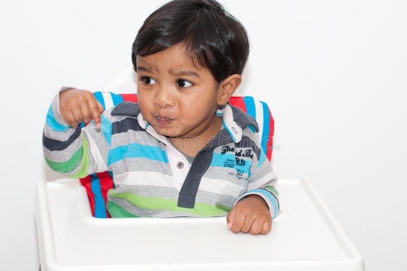 wysoki dziecka krzesło zdjęcia royalty free