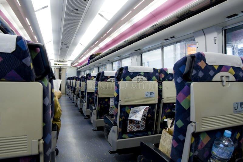 wysoki Japan prędkości pociąg obrazy stock