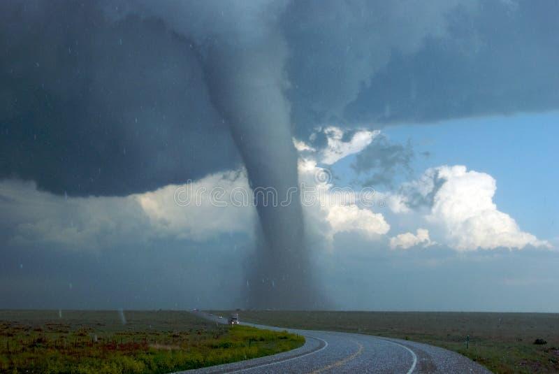 Wysoki Kolorado południowo-wschodni Tornado obraz royalty free