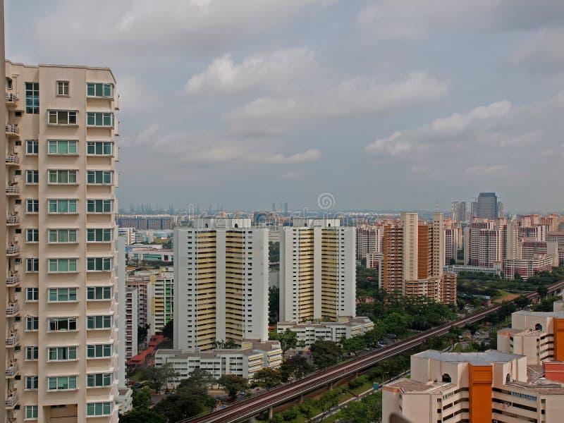 wysoki mieszkanie wzrost obraz stock