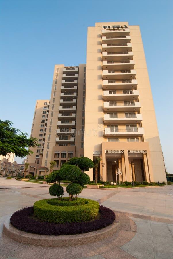 wysoki mieszkanie wzrost obrazy stock