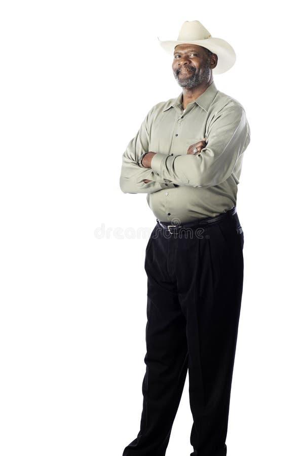 Wysoki Starszy mężczyzna obrazy stock