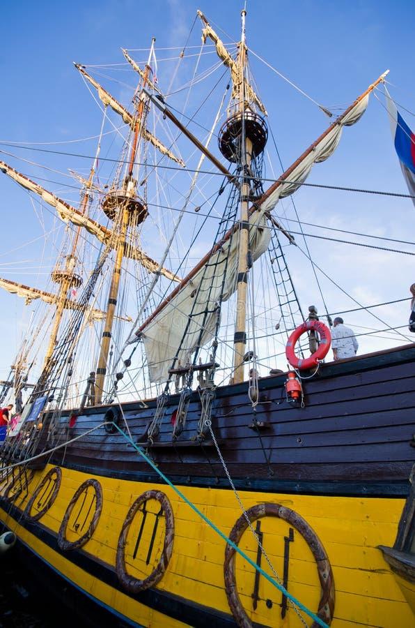Wysoki statek Ściga się w Szczecińskim fotografia stock