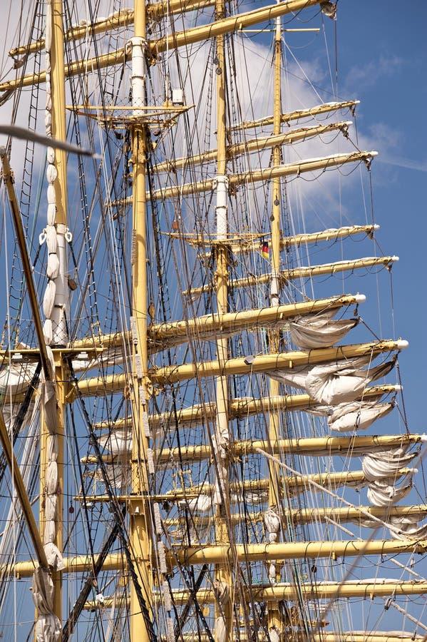 Wysoki statek obrazy stock