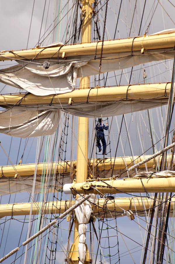 Wysoki statek obrazy royalty free