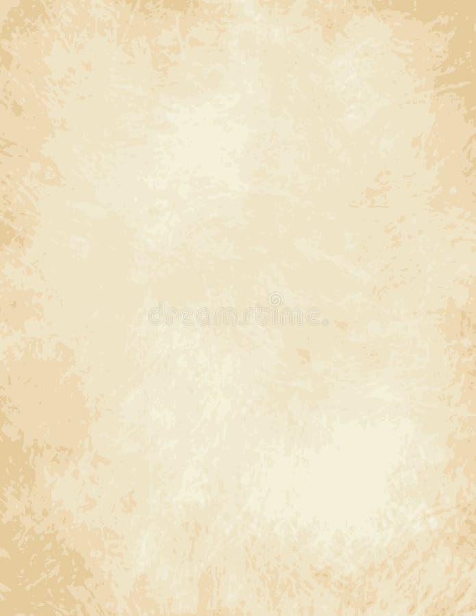 Wysoki szczegół folujący wektoru światła pergamin ilustracji