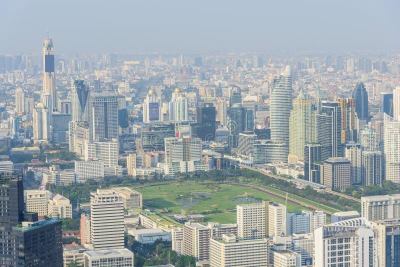 Wysoki widok Bangkok miasto zdjęcia stock