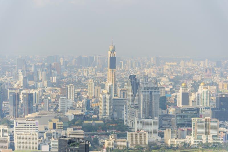 Wysoki widok wysoki budynek obraz stock