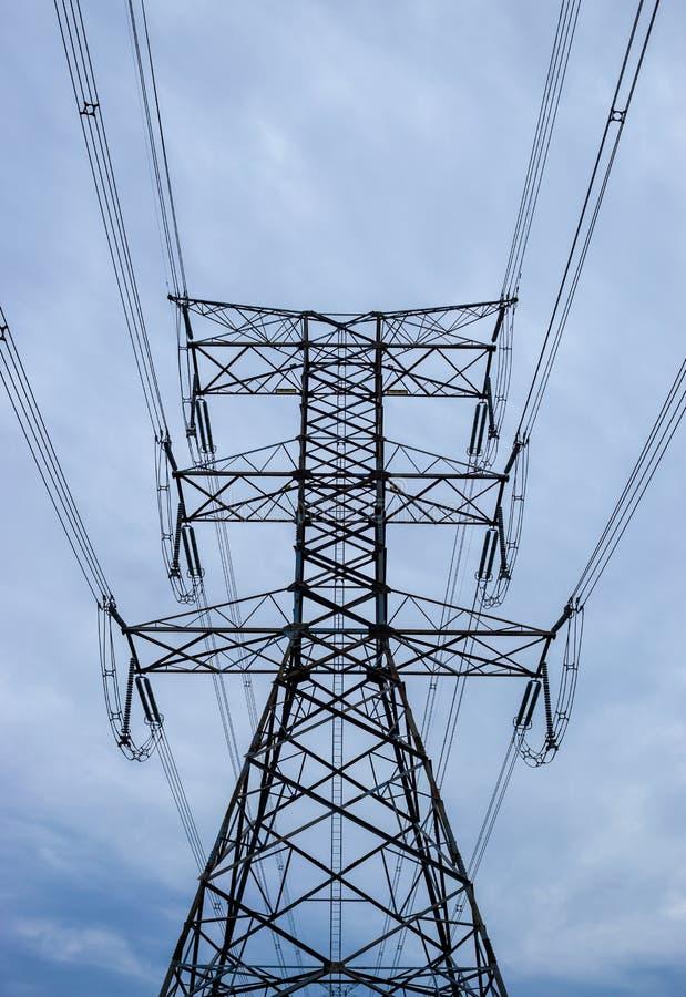 Wysoki wierza elektryczny obrazy royalty free