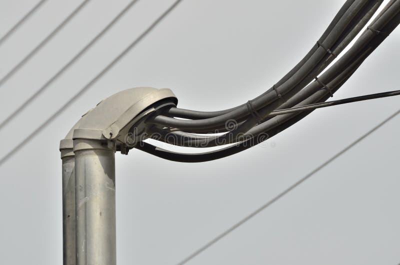 Wysoki woltażu kabel obrazy stock