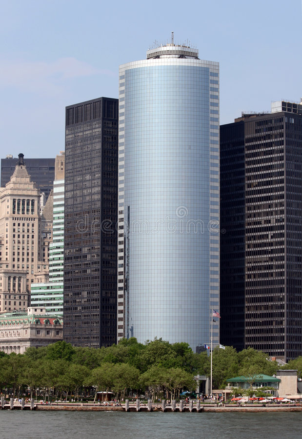 wysoki wzrost budynku nowego jorku obrazy stock