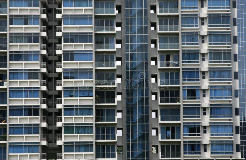 wysoki wzrost mieszkaniowy fotografia stock