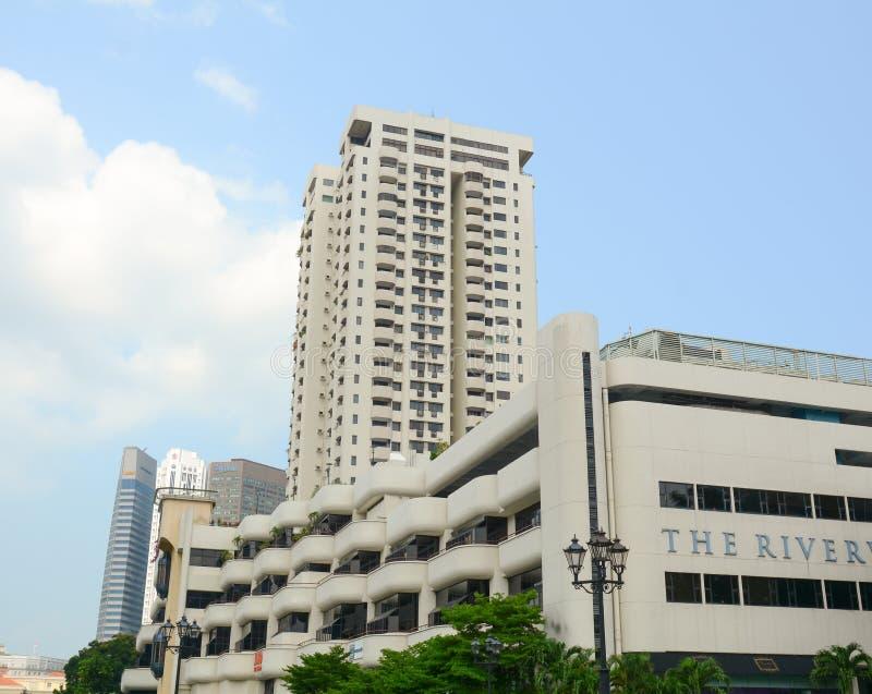 Download Wysoki Wzrosta Budynek W Centrum Singapur Obraz Stock Editorial - Obraz złożonej z budujący, kolor: 57654414