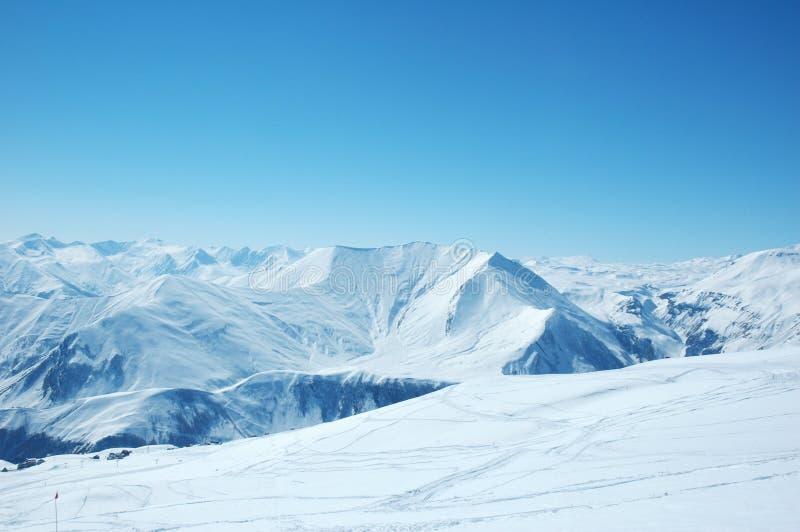 Wysokie góry zdjęcie royalty free