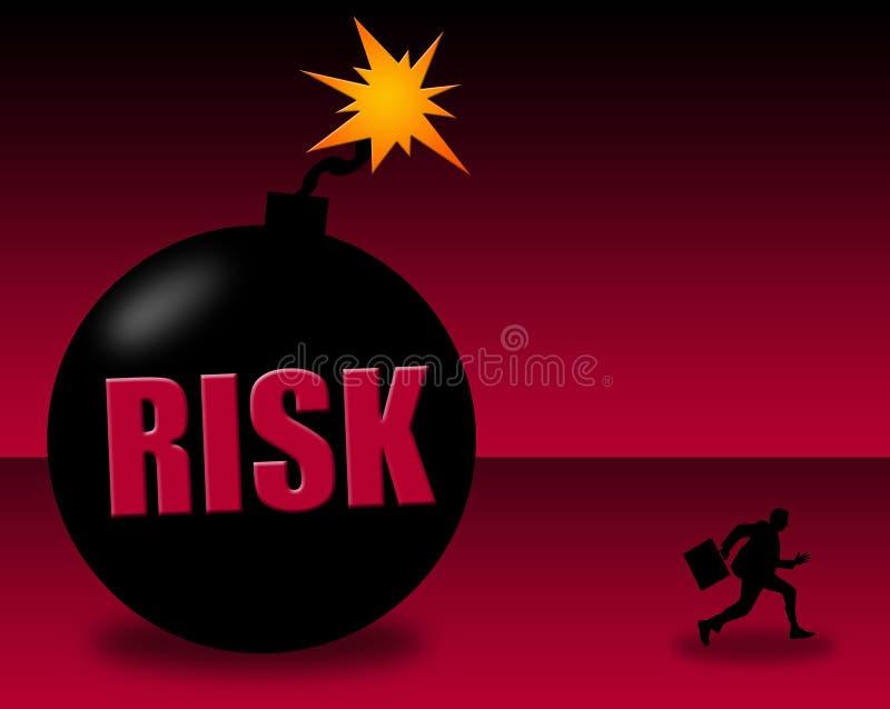 wysokie ryzyko ilustracji