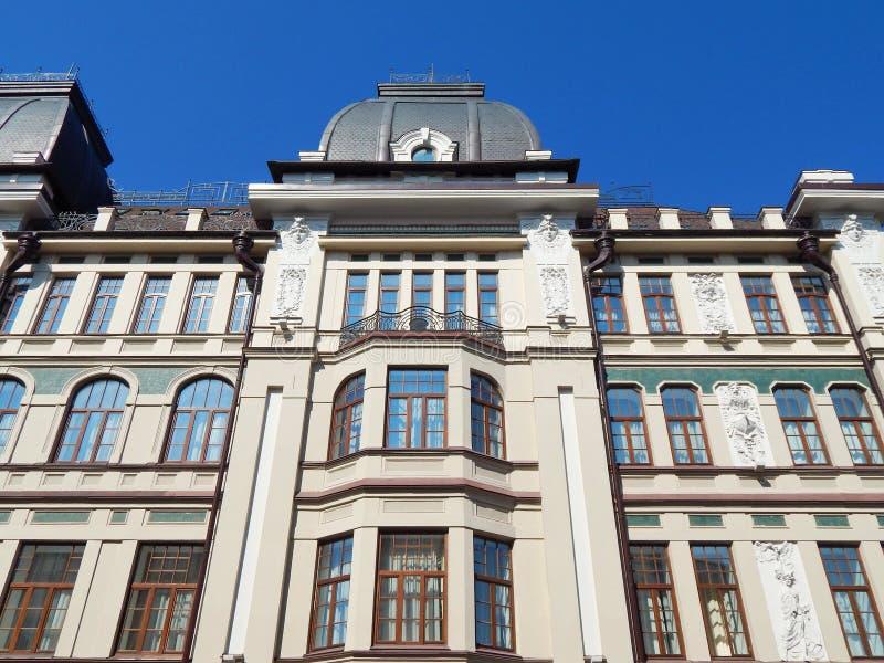 Wysokiego wzrosta resiential dom w mieście Kazan w republice Tatarstan w Rosja obraz stock