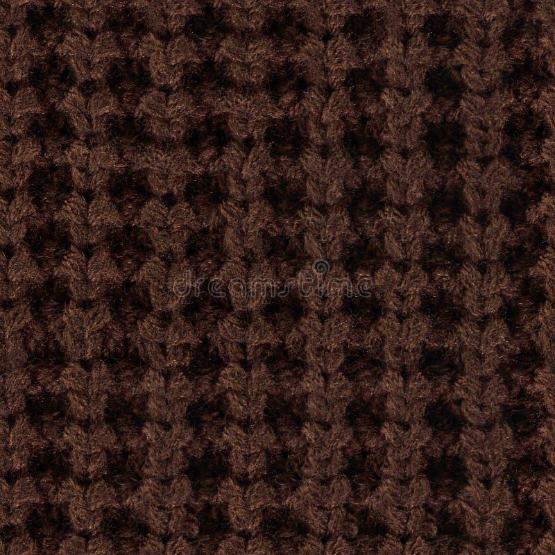 Wysokiej jakości bezszwowa tekstura trykotowa tkanina zdjęcia royalty free
