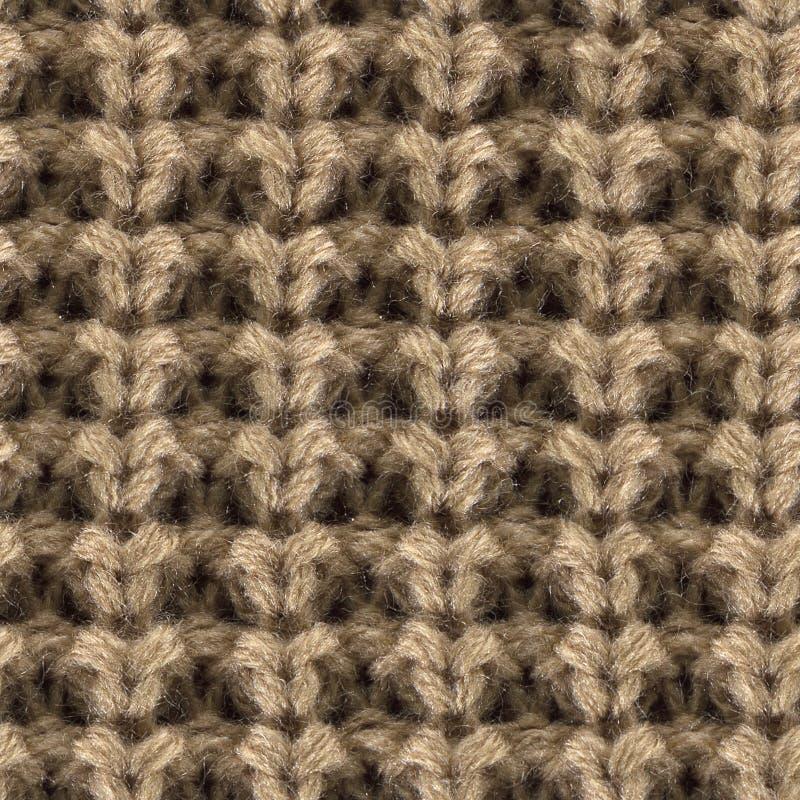 Wysokiej jakości bezszwowa tekstura trykotowa tkanina zdjęcia stock