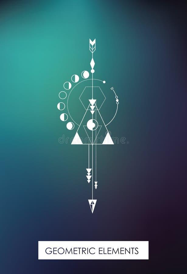 Wysokiej jakości geometryczni elementy geometria święta zdjęcie royalty free