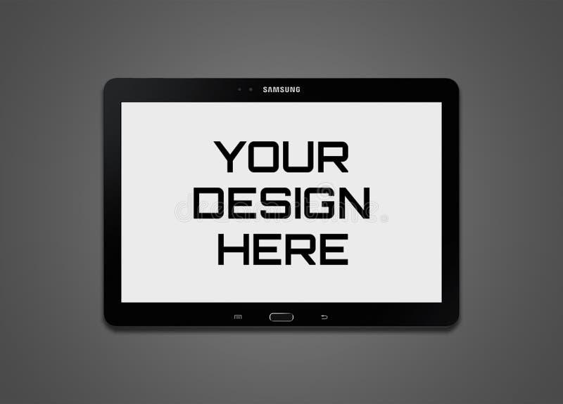 Wysokiej jakości Samsung pastylki Mockup fotografia royalty free