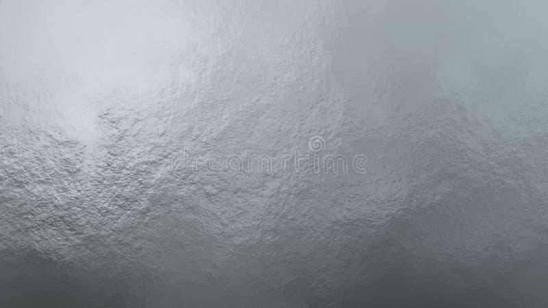 Wysokiej jakości srebna metal tekstura fotografia stock