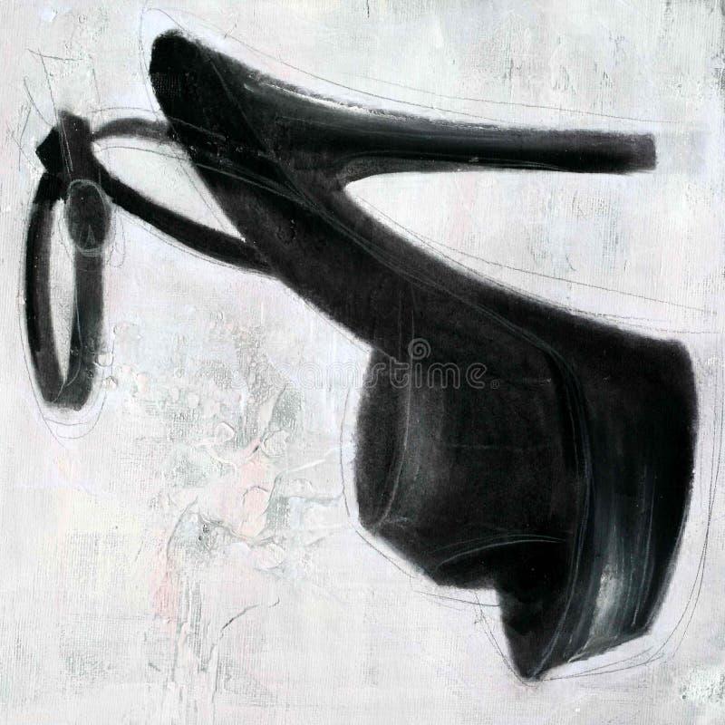 wysokość płótna czarna piętowa konsystencja ilustracji