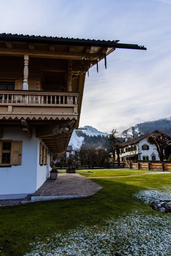 Wysokogórski wakacje dom zdjęcie stock