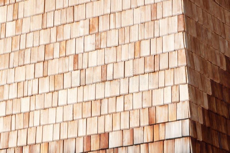 wysokogórskiego clapboard pogodny ścienny drewniany zdjęcia stock