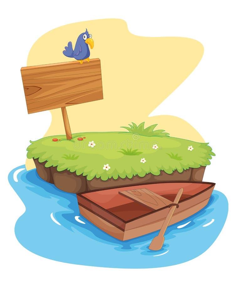 wyspa ilustracja wektor