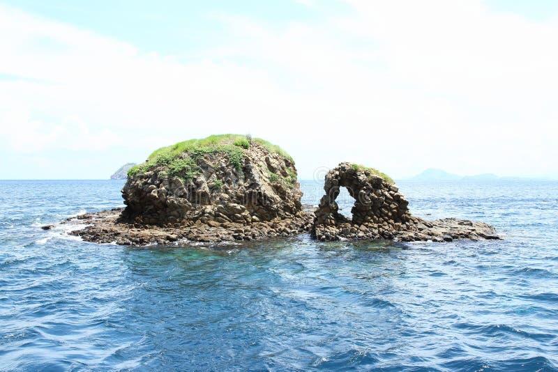 Wyspa Batu Bolong fotografia royalty free