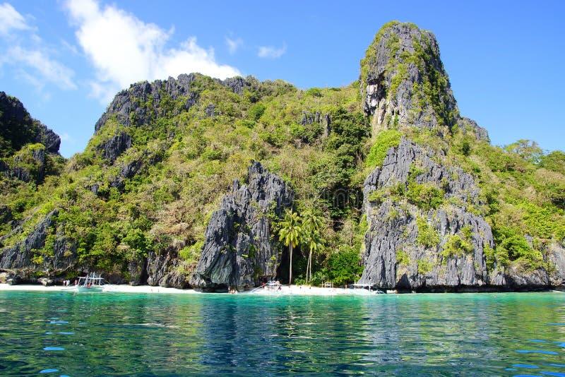 Wyspa. El Nido, Filipiny fotografia stock