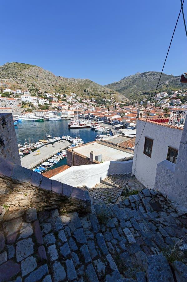 wyspa hydry greece fotografia stock