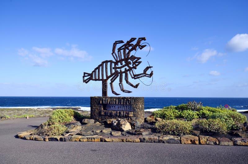 Wyspa Kanaryjska, Lanzarote fotografia stock