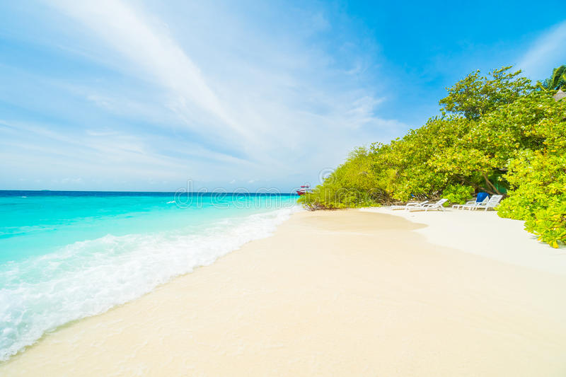 wyspa Maldives obrazy stock
