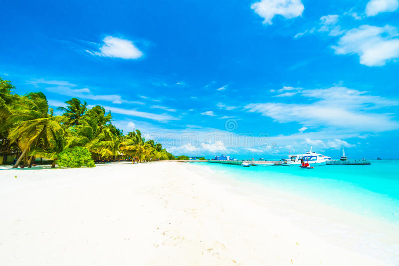 wyspa Maldives obrazy royalty free