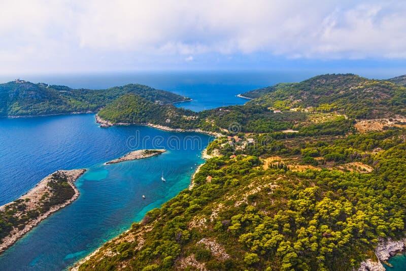 Wyspa Mljet zdjęcia royalty free