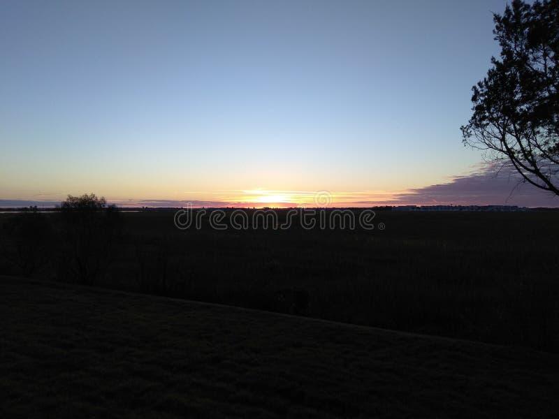 Wyspa palma wschód słońca zdjęcie royalty free