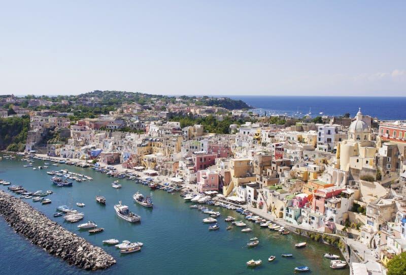 Wyspa Procida, Włochy zdjęcia stock