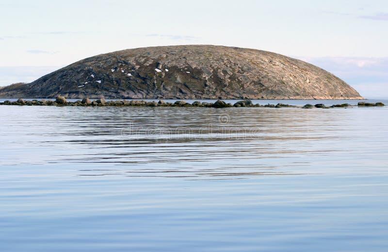 wyspa round fotografia royalty free