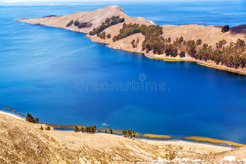 Wyspa słońce półwysep zdjęcia stock