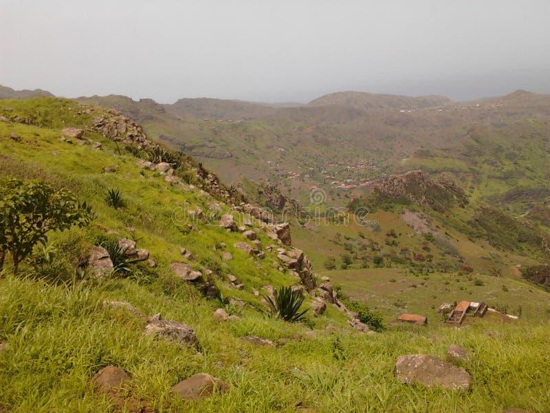 Wyspa Santiago, Mato Brazylia, przylądek Verde zdjęcie stock