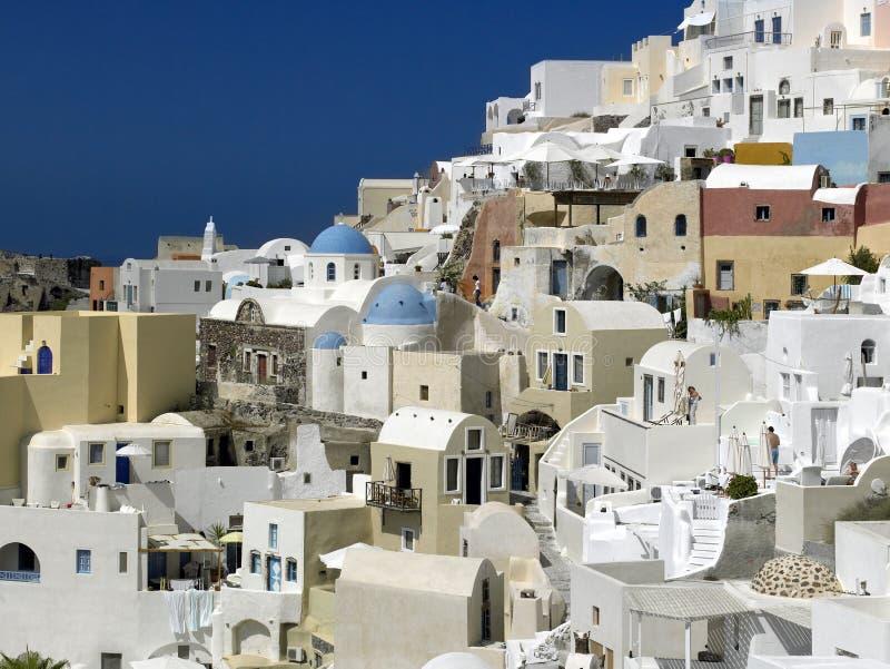 Wyspa Santorini, Grecja - zdjęcia stock