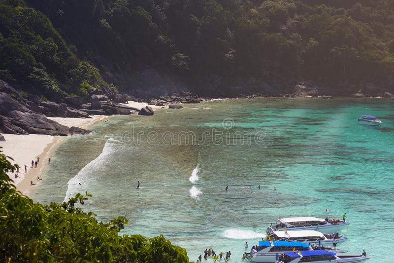 wyspa similan zdjęcia stock