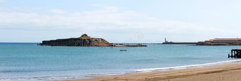 Wyspa St Mary, latarni morskiej Maria Pia obrazy stock