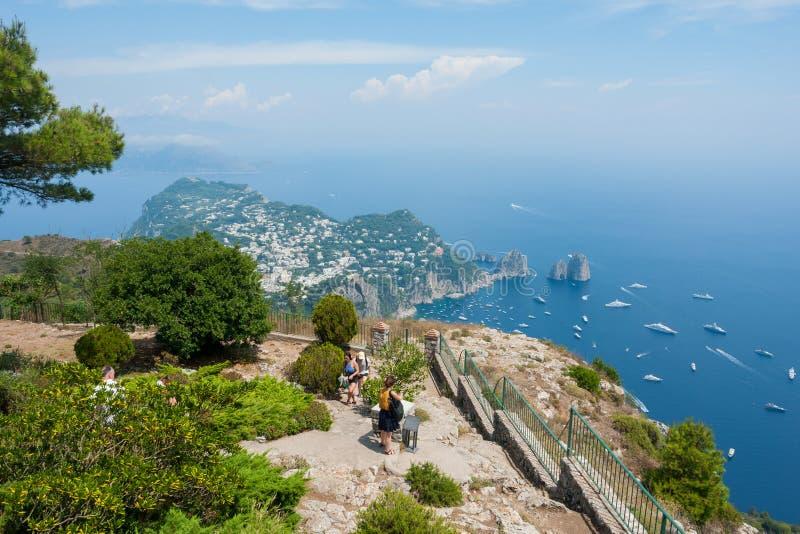 wyspa Włochy capri obraz stock